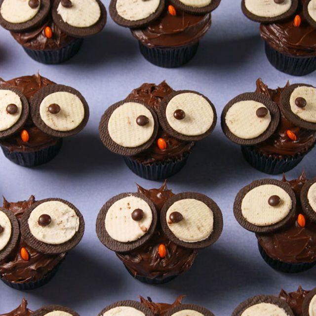 Owl Cupcakes Vertical