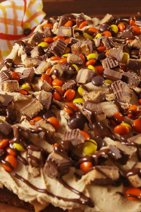 Best Chocolate Peanut Butter Poke Cake Recipe How To Make Peanut