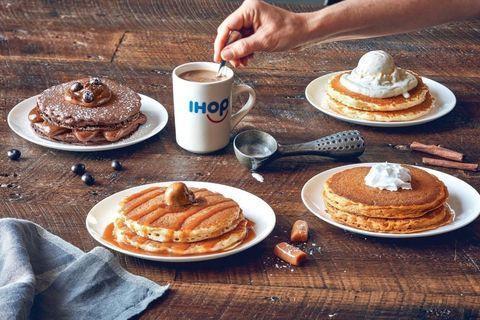 Dish, Food, Cuisine, Breakfast, Meal, Pancake, Ingredient, Brunch, Dessert, Baked goods,