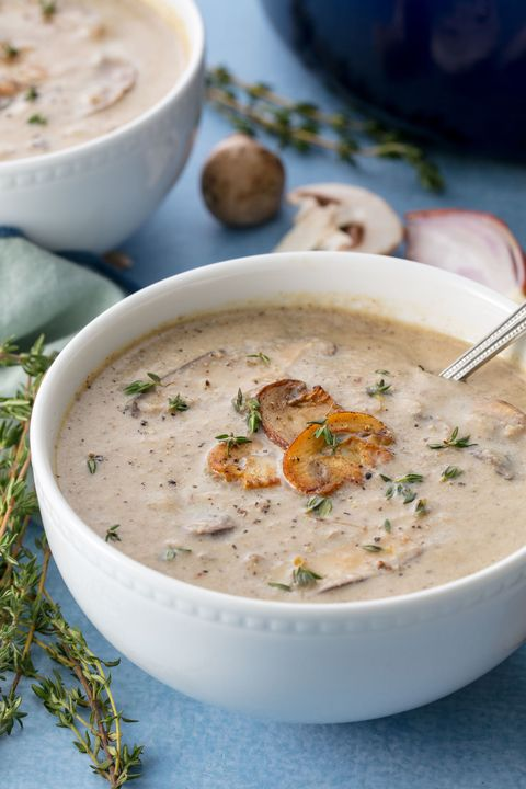 Cream of Mushroom Soup Vertical