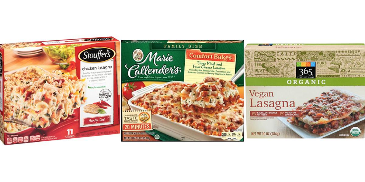 10 Best Frozen Lasagna Brands 2017 Frozen Lasagnas To