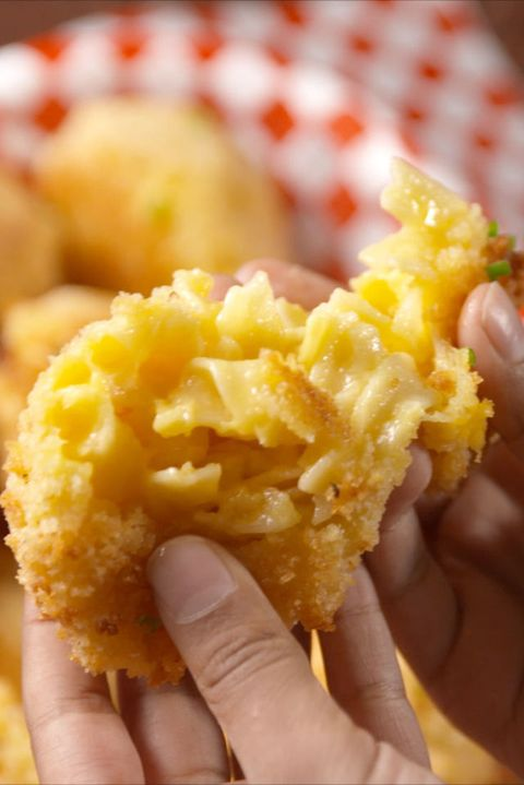 mac & cheese bombs