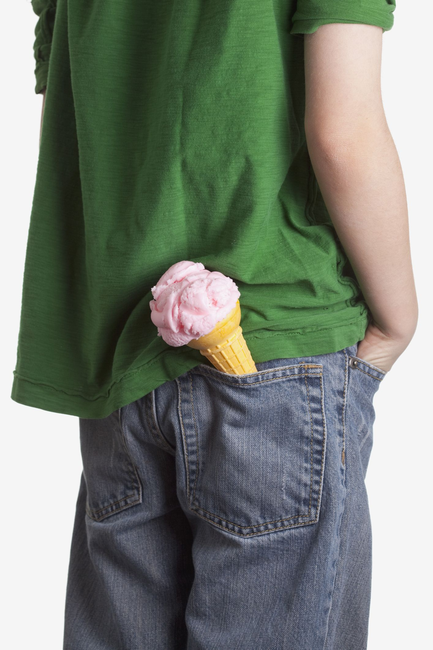 ice cream cone pocket