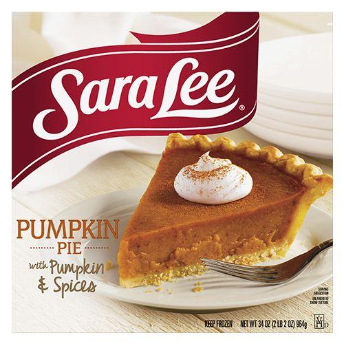 Sara Lee Pumpkin Pie