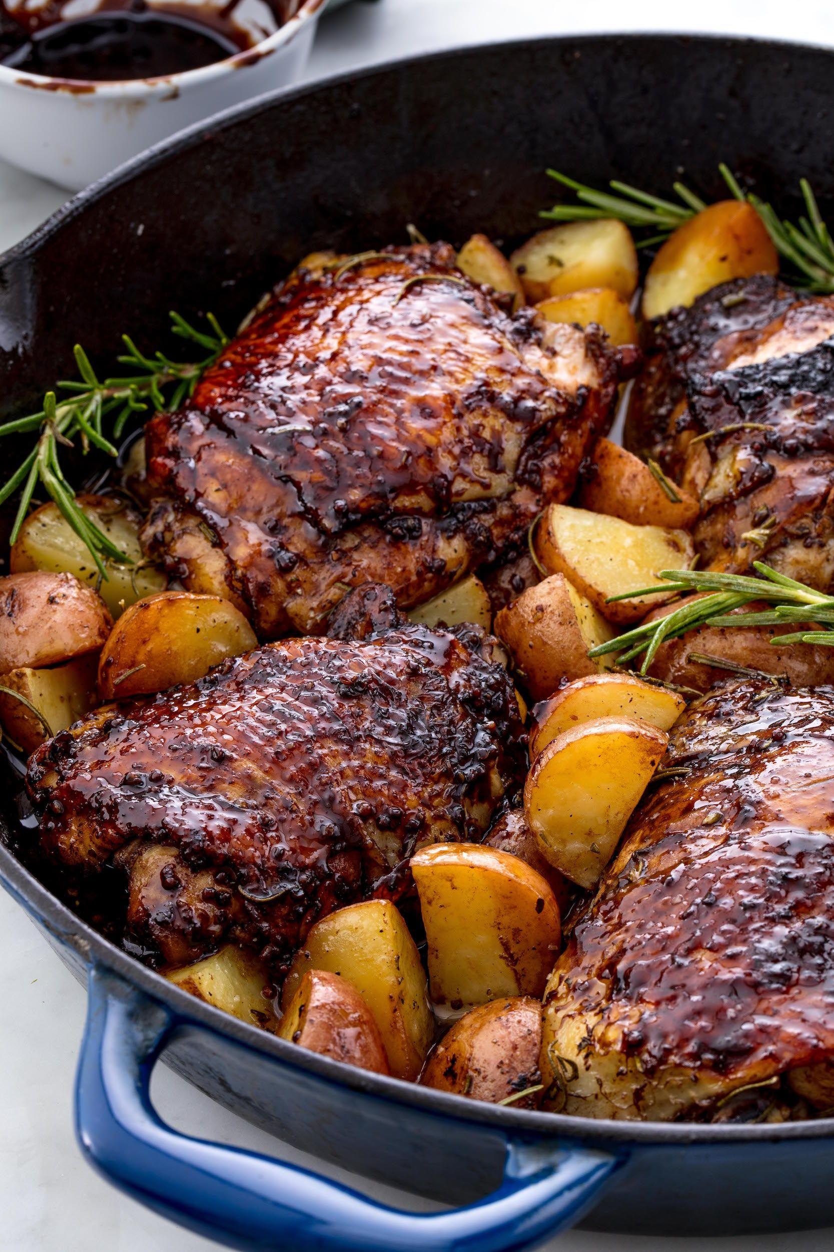 Balsamic Glazed Chicken Vertical