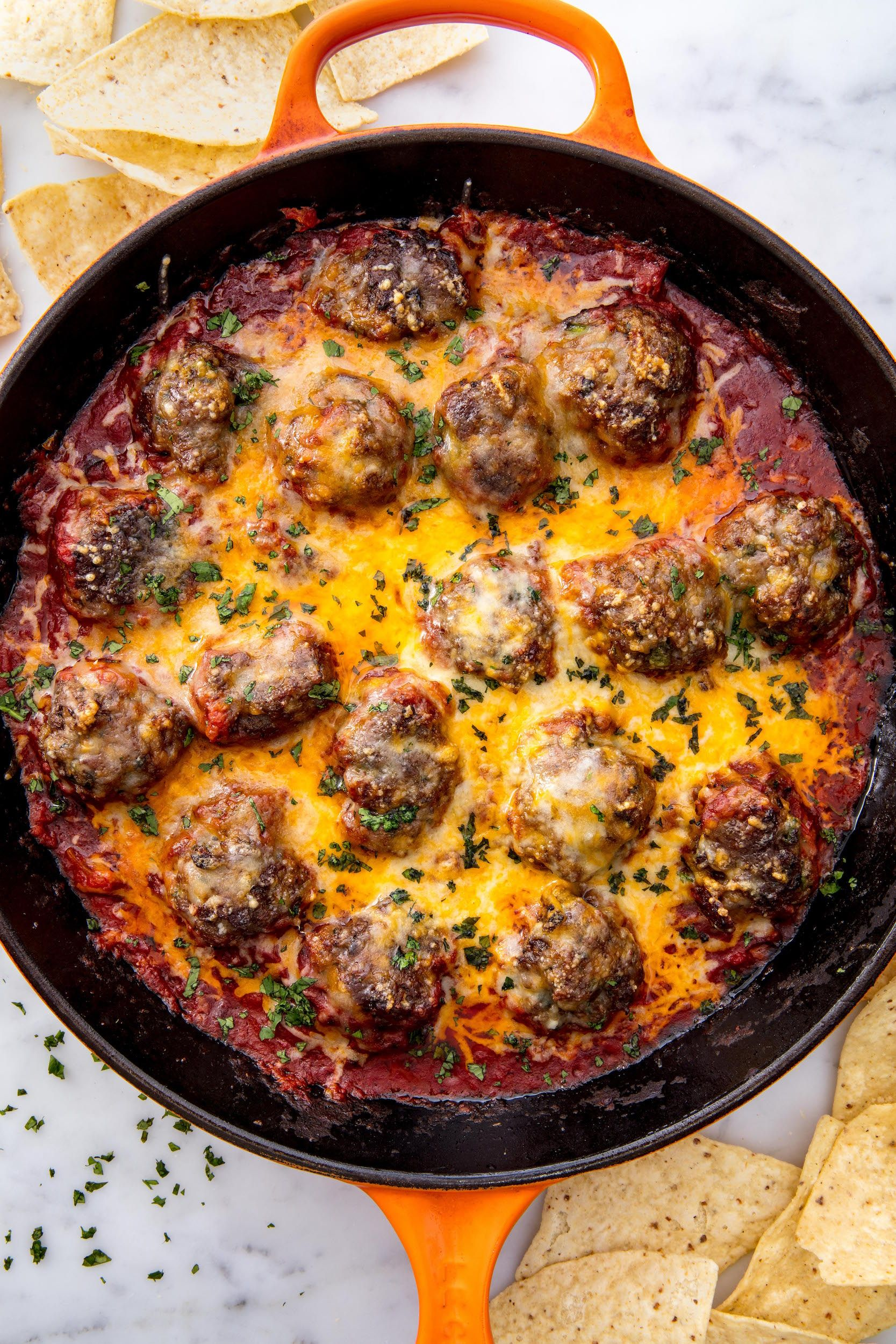 Tex-Mex Meatballs Vertical