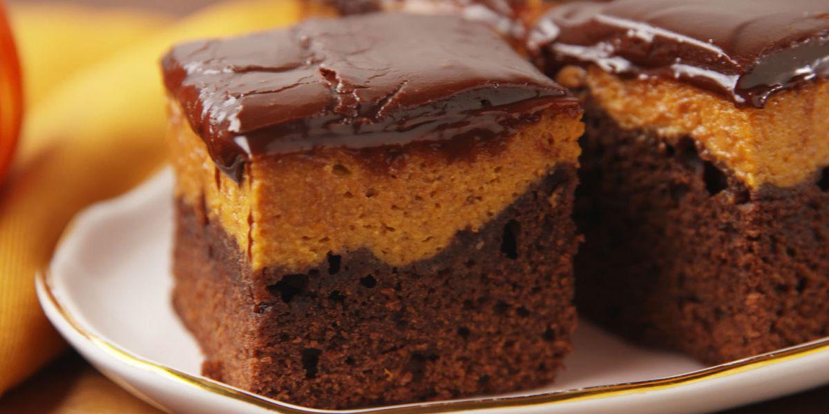 Best Pumpkin Pie Brownie Recipe How To Make Pumpkin Pie