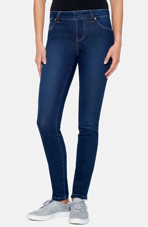 Denim, Jeans, Clothing, Blue, Pocket, Cobalt blue, Waist, Standing, Ankle, Textile,