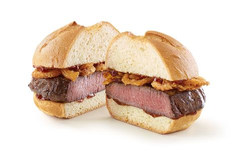Food, Cuisine, Dish, Bacon sandwich, Ingredient, Breakfast sandwich, Baked goods, Produce, Sandwich, Slider,