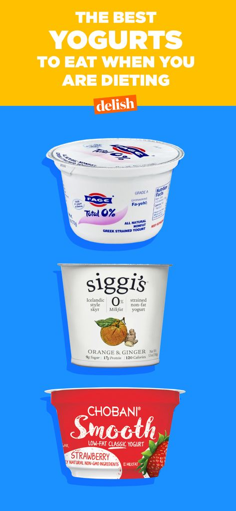The Healthiest Yogurts To Eat When You're On A Diet - Delish com