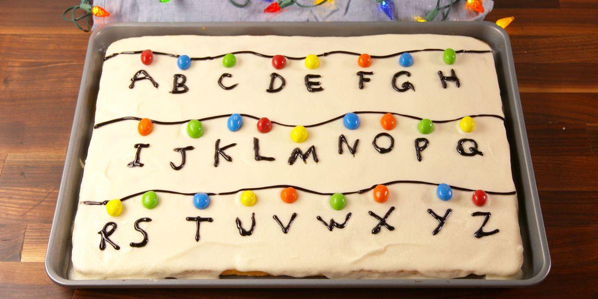 Best Stranger Things Sheet Cake Recipe