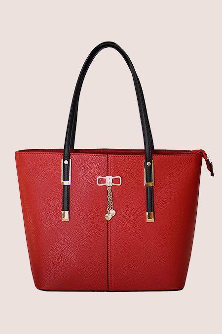 Handbag, Bag, Fashion accessory, Red, Product, Beauty, Shoulder bag, Orange, Leather, Fashion,