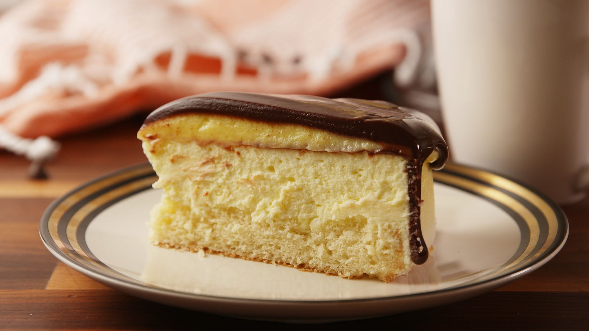 Best Boston Cream Cheesecake Recipe How to Make Boston Cream