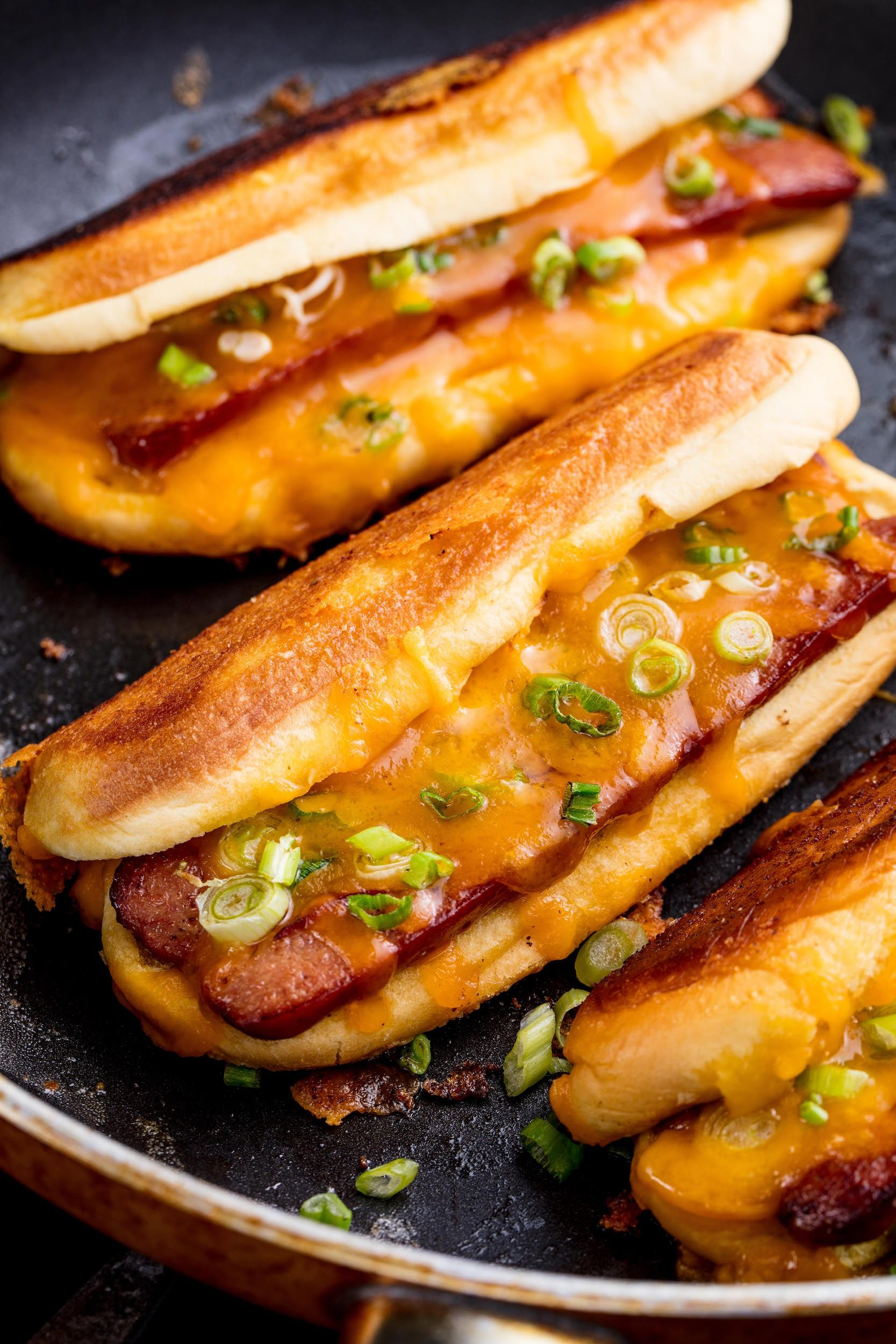 Grilled Cheese Dogs Are Going To Change The Hot Dog Game Forever