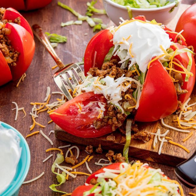 Taco Tomatoes - Delish.com