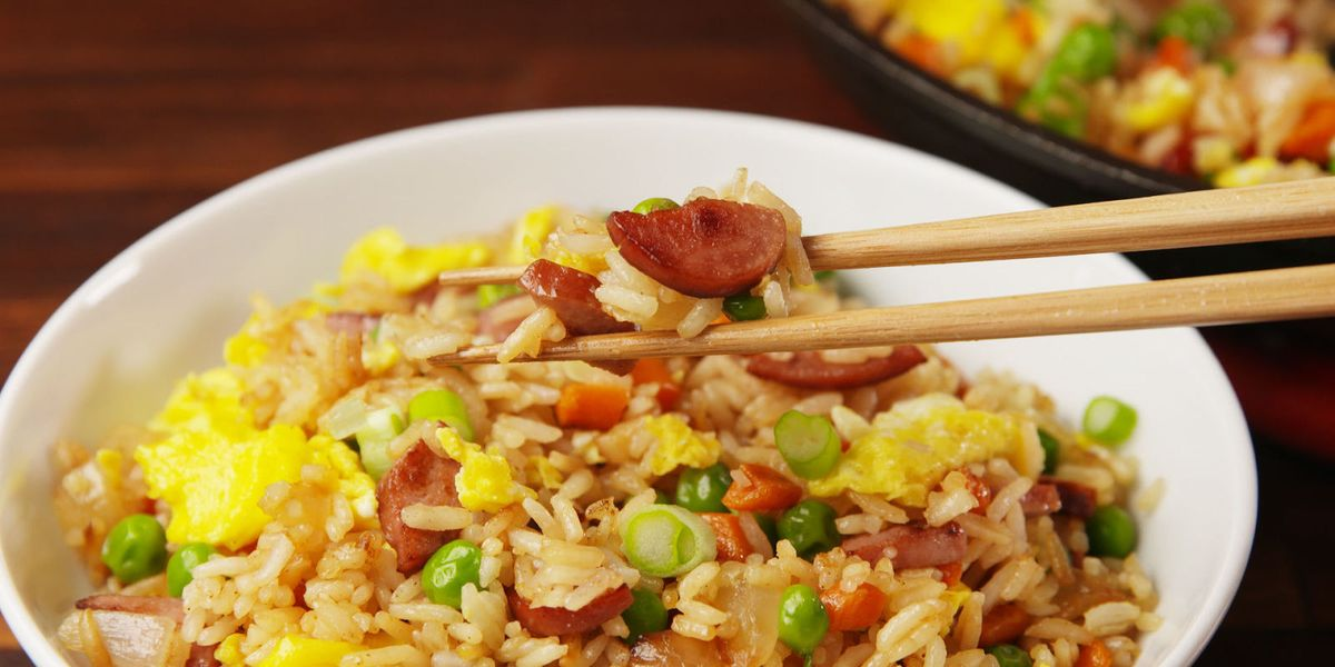 Best Hot Dog Fried Rice Recipe How To Make Hot Dog Fried Rice