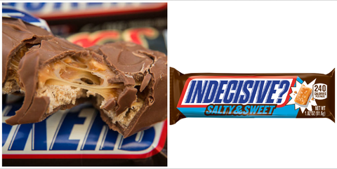 Chocolate bar, Food, Confectionery, Snickers, Chocolate, Cuisine, Dish, Candy, Peanut butter, Dessert,