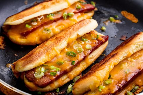 Grilled Cheese Dogs Horizontal