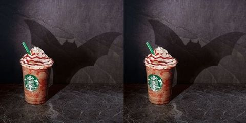 Starbucks Is Bringing Back Vampire Frappuccinos For Halloween