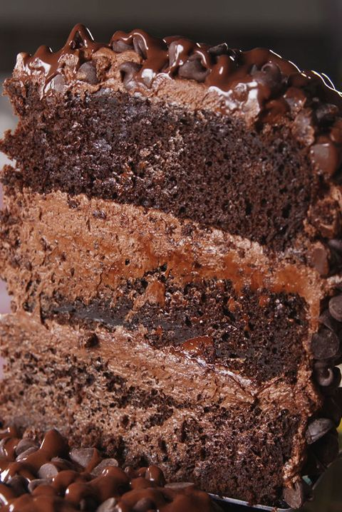 Death By Chocolate Cake Vertical