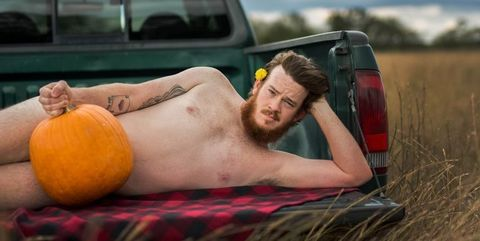 This Guy Did A Nude Photo Shoot With Pumpkins And The Photos Are Hilarious