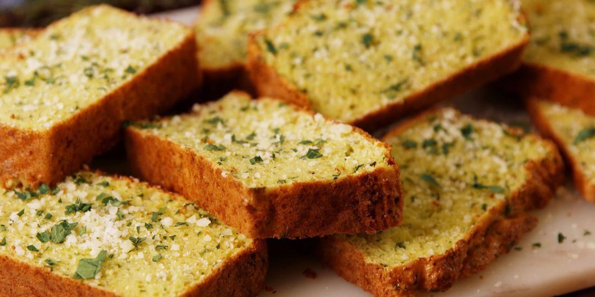 Baking Cauliflower Garlic Bread Video Cauliflower Garlic