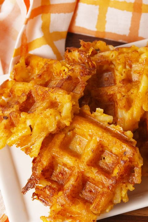 Mac n Cheese Waffles