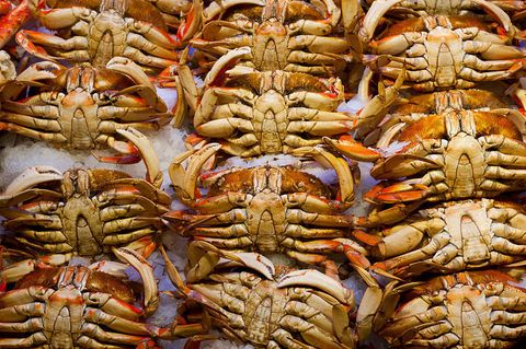 Pike Place fresh crab