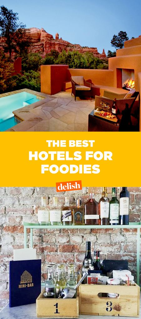 8 Best Hotels For Food Lovers - Delish com