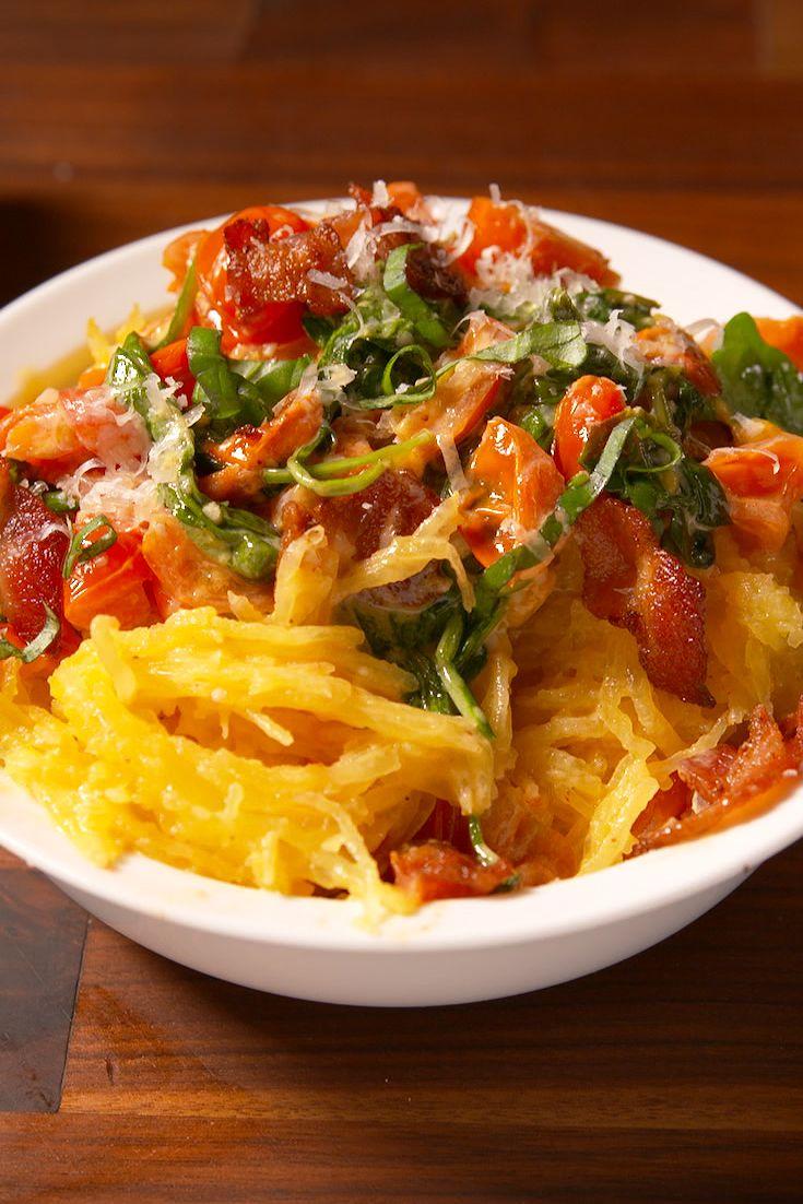 Tuscan Spaghetti Squash Vertical