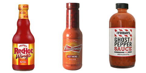 10 Best Wing Sauce Store Bought Chicken Hot Wing Sauces Delish Com