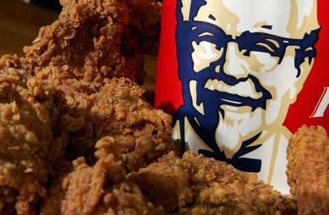 Fried food, Dish, Food, Cuisine, Fried chicken, Snack, Vegetarian food, Junk food, Ingredient, American food,