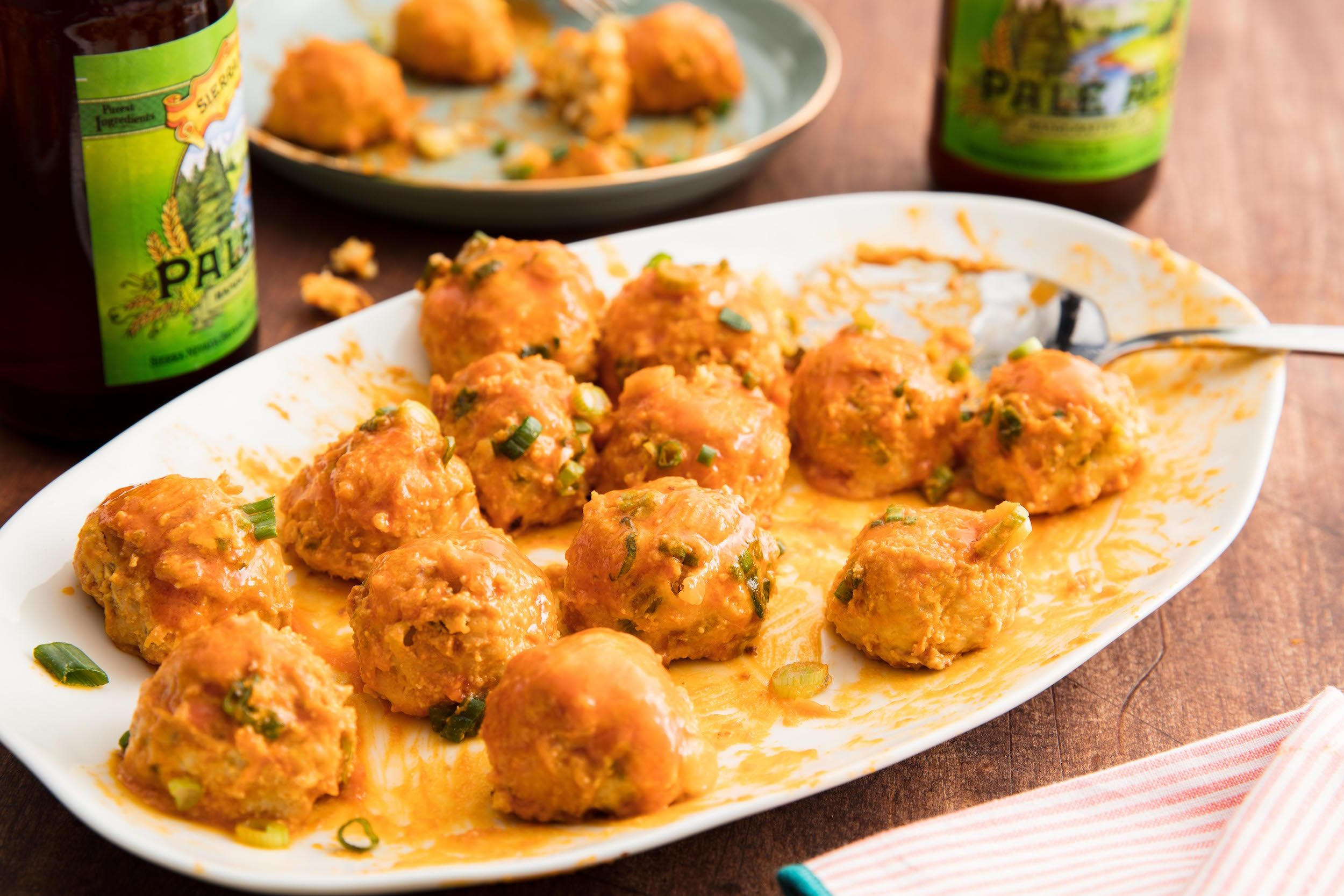 Best Buffalo Chicken Meatballs Recipe How To Make Buffalo Chicken Meatballs Delish Com