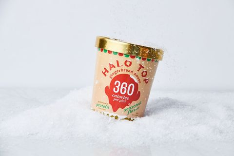 Halo Top Gingerbread House