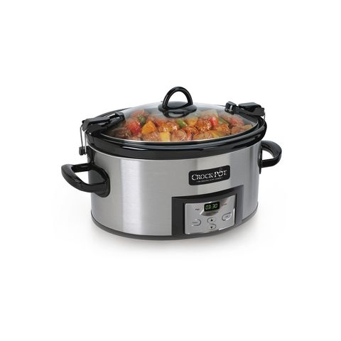 Slow cooker, Cookware and bakeware, Stock pot, Crock, Food steamer, Product, Pressure cooker, Kitchen appliance, Lid, Rice cooker,