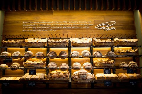 Bakery, Pâtisserie, Display case, Pastry, Delicacy, Baked goods, Cuisine, Food,