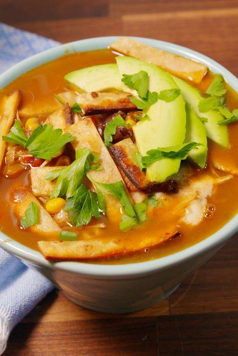 Slow-Cooker Chicken Tortilla Soup Vertical