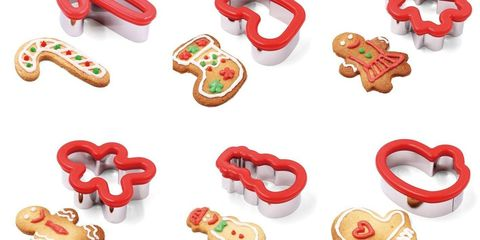 10 Best Christmas Cookie Cutters Holiday Cookie Cutters Delish Com