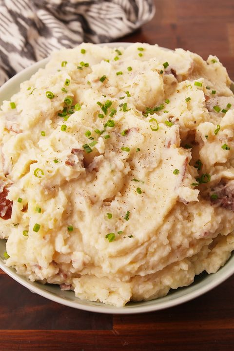 Crock-Pot Garlicky Mashed Potatoes