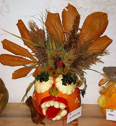 Garnish, Ananas, Food, Fruit, Vegetarian food, Plant, Pineapple, Floristry, Pumpkin, Bromeliaceae,