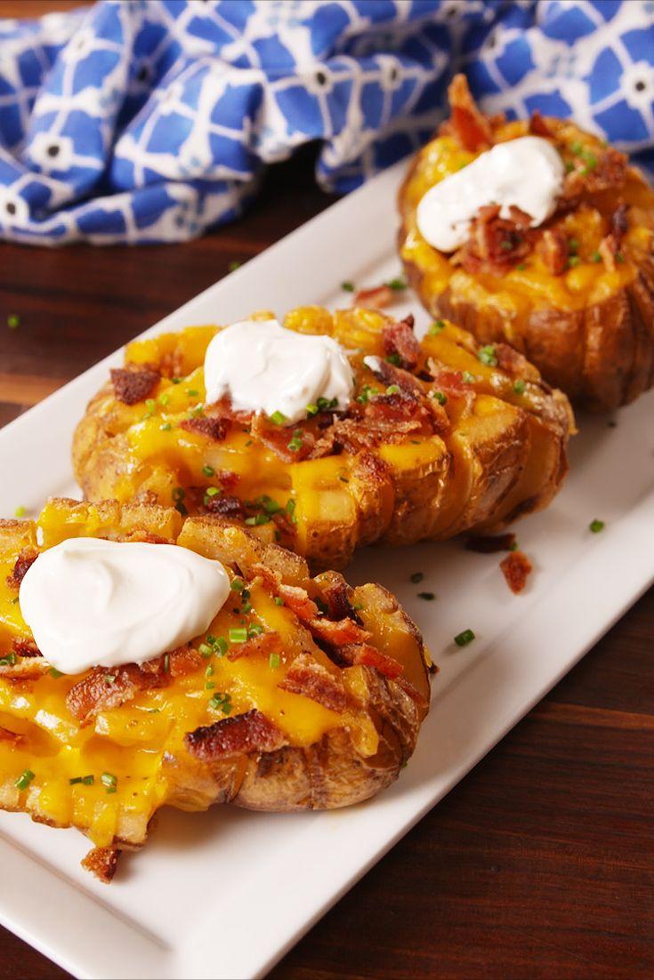 Bloomin' Baked Potatoes