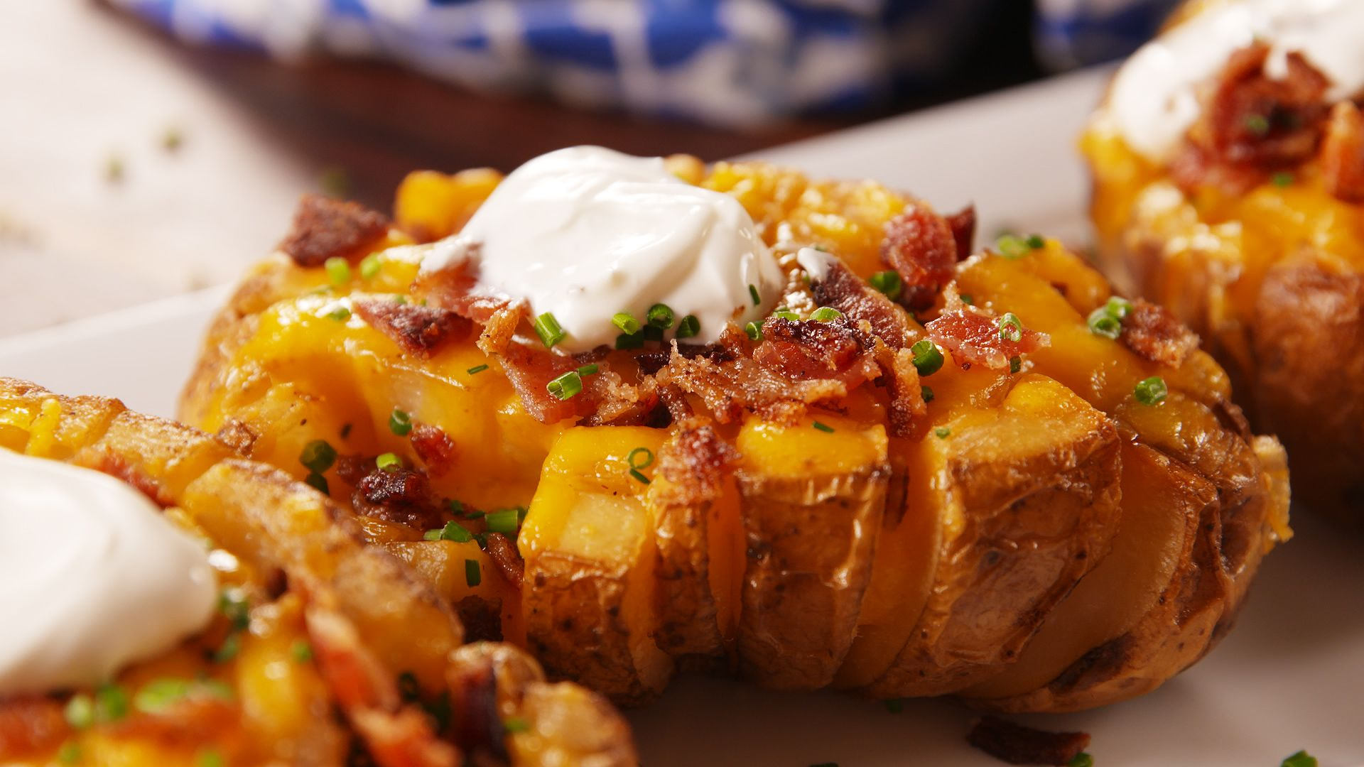best bloomin baked potato recipe how to make bloomin baked potato