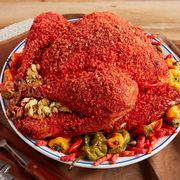 Dish, Food, Cuisine, Ingredient, Produce, Meat, Tandoori chicken, Roasting, Recipe, Turducken,
