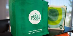 Whole Foods shopping bags