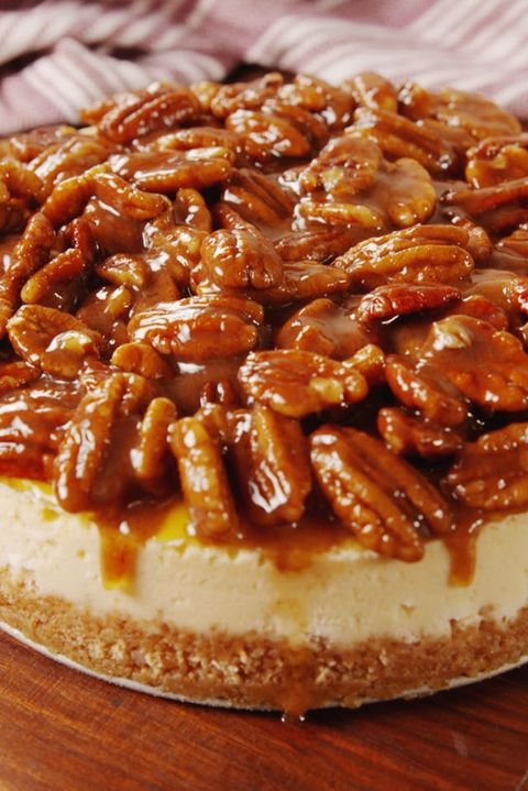 Pecan Pie Cheesecake Vertical