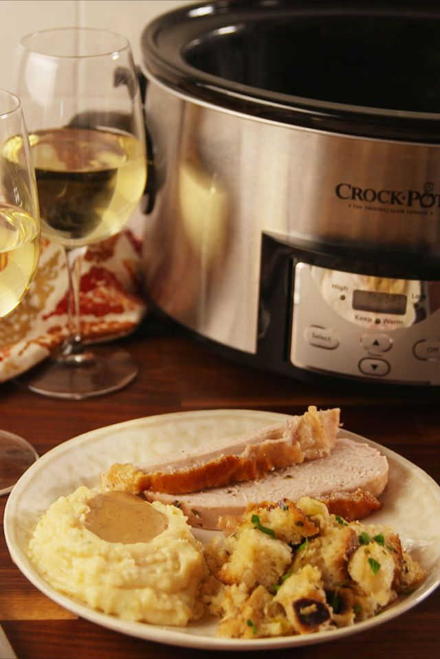 Save Precious Time And Oven Space With Crock-Pot Stuffing
