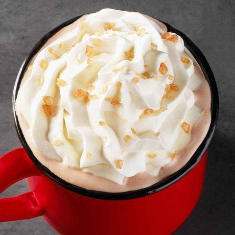 Food, Whipped cream, Dish, Cuisine, Cream, Espresso con panna, Ingredient, Crème fraîche, Sour cream, Dessert,