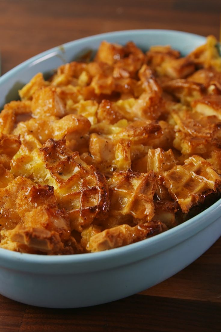 best chicken n waffle casserole recipe how to make chicken n