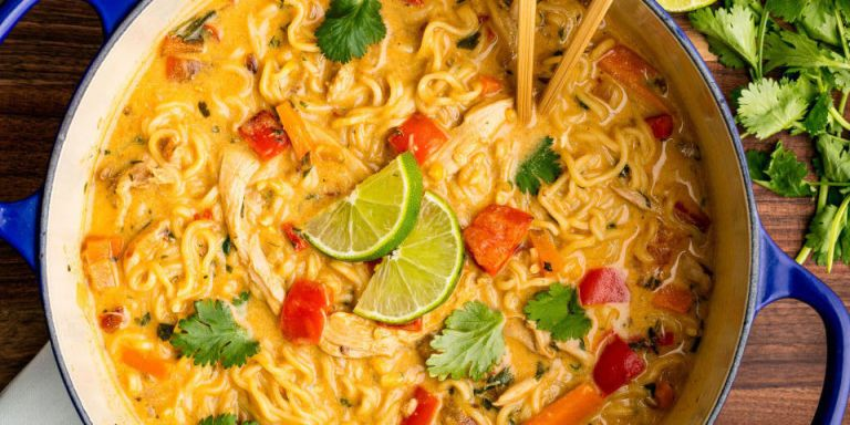 Best Asian Chicken Noodle Soup Recipe