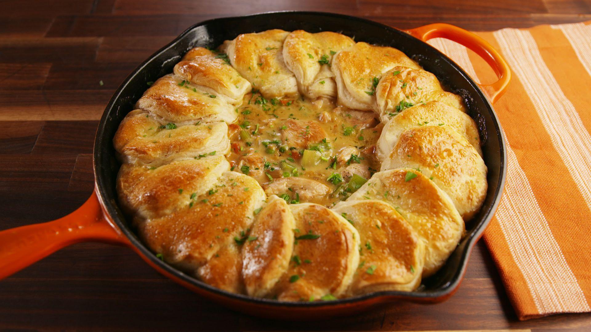 Best Skillet Chicken Pot Pie Recipe How To Make Skillet Chicken